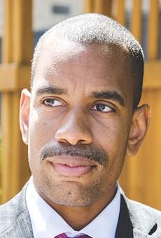 City Council member Malik Evans
