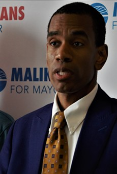 City Councilmember and Mayoral Candidate Malik Evans.