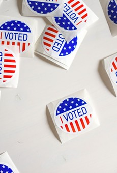 Early voting gets a steady start