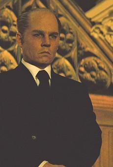 """Johnny Depp in """"Black Mass."""""""