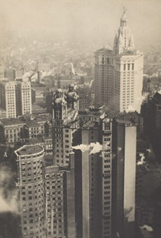 """New York from its Pinnacles"" is included in Eastman Museum's major retrospective of the work of Alvin Langdon Coburn, on view through January 24."