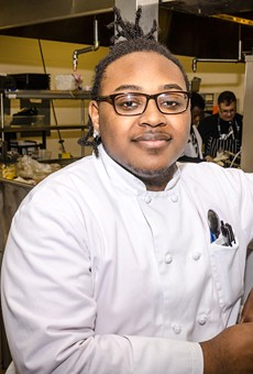 East High School senior Dominique Brown has participated in his school's culinary program since he was a freshman, and is now working with the Rochester Youth Culinary Experience. The organization aims to open a restaurant in Village Gate this summer.