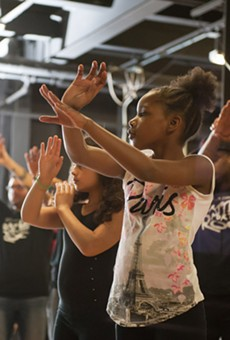 Dozens of young people participate in Battle for the ROC freestyle dance competitions that are held on Thursday evenings at rotating city recreation centers.