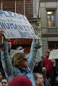 GALLERY: 'Not My President' rally in New York City