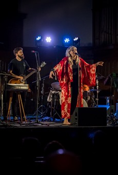 Yggdrasil performed in the Lutheran Church of the Reformation on Friday night.