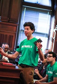 People pack City Council for Parcel 5 forum