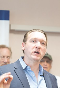 Nate McMurray, the Democratic candidate for the 27th Congressional District seat, is getting more attention after his opponent got hit with insider trading charges and quit the race.