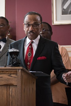 The Rev. Stewart Lewis is a social justice activist.