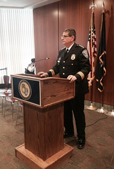 Outgoing Rochester Police Chief Michael Ciminelli.