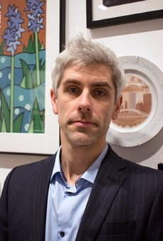"""Rochester Contemporary Art Center director Bleu Cease: """"Other cities have a strong mechanism"""" to support the arts, he says. """"We don't. It's inexcusable."""""""