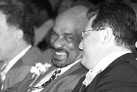 David Gantt and Joe Morelle, who is now a representative in Congress. - FILE PHOTO