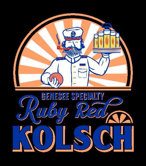 Genesee Ruby Red Kolsch is the brewery's best selling seasonal beer.