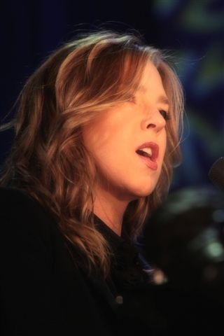 Diana Krall performed two shows in Kodak Hall at Eastman Theatre during the 2015 Xerox Rochester International Jazz Festival. - PHOTO BY FRANK DE BLASE