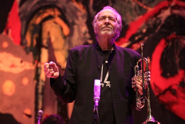Herb Alpert performed with Lani Hall during his XRIJF Kodak Hall show on Saturday, June 20. - PHOTO BY FRANK DE BLASE