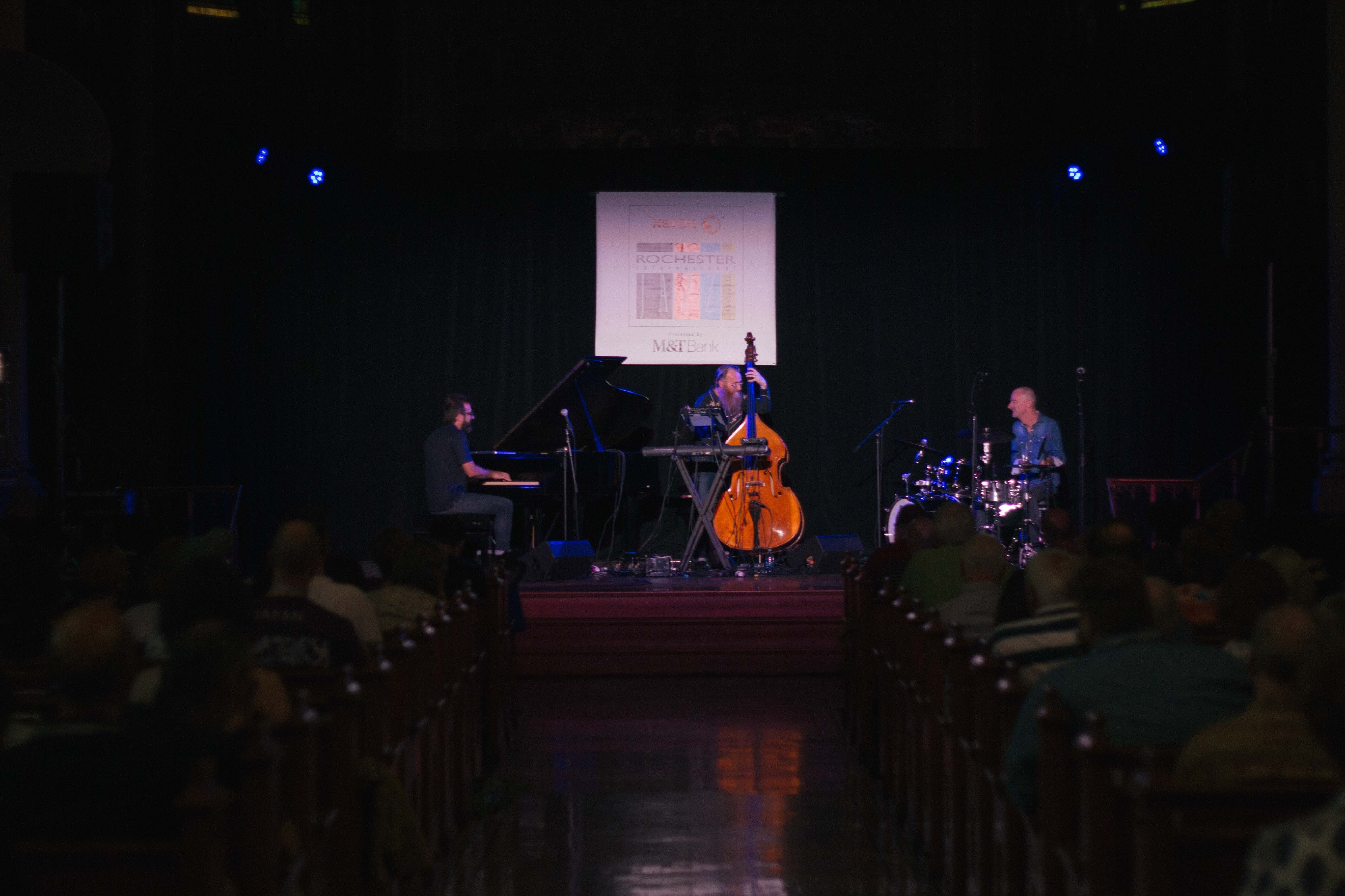 Click To Enlarge The Neil Cowley Trio Performed At Christ Church On Saay Photo By Kevin Fuller