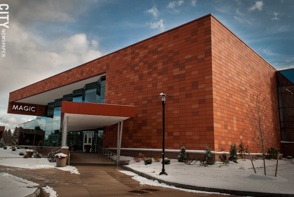 RIT's new MAGIC Center building provides state-of-the-art amenities for students, faculty, and outside companies. - PHOTO BY RYAN WILLIAMSON