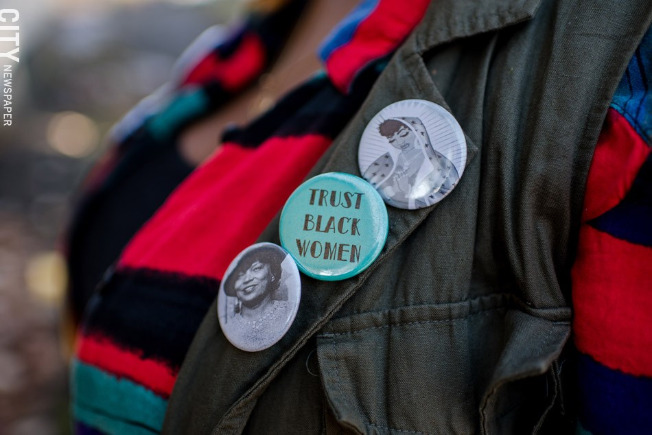 """Kristen Walker: Filling """"the void of safe spaces"""" for black women. - PHOTO BY JOSH SAUNDERS"""