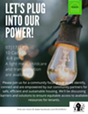 Lets plug into our power! Join us for a community conversation on accessing resources.