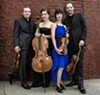 The Jasper String Quartet makes a return appearance at the Festival with Beethoven's fiery quartet in F (op 59, no 1)