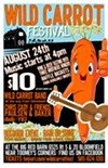 Wild Carrot Festival poster