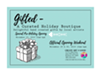 Gifted,II - a holiday boutique