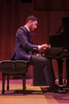 Pianist Emmet Cohen performed in Hatch Recital Hall on Friday, June 26.