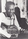 Blues musician John Hammond paid tribute to Son House during a performance Thursday night.