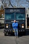 Matt Petrillo of The Meatball Truck Co. For food truck operators, the summer is a lucrative, but demanding season.