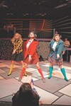 "<p>Abby Kate Herron, Brynn Tyszka, and Sammi Cohen are the ruthless Heathers in Blackfriars Theatre's production of ""Heathers: The Musical.""</p>"