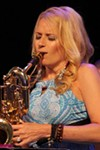 Lauren Sevian performed with her quartet at Max on Thursday night.