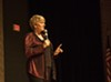 "Alison Arngrim performed her show ""Confessions of a Prairie B;+@h"" at the Fringe on Friday."