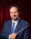 <p>Rochester Chamber Orchestra Music Director Gerard Floriano conducted the group during its 2016-17 season opener, Sunday evening.</p>