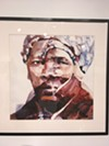 """Harriet Tubman,"" a 2016 watercolor on Yupo paper by Michael Hubbard."