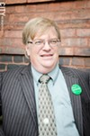 Alex White is the Green Party's candidate for mayor of Rochester.