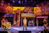 "The cast of ""In the Heights,"" on stage at Geva Theatre Center."