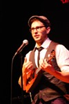 Matt Griffo performed at SOTA on Thursday.