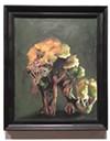 """Matt Roberts' """"Woodwolf"""" after-study painting."""