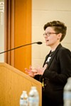 The Reverend Emily McNiell is the executive director of the New York State Labor-Religion Coalition. She is the co-chair of the New York State Poor People's Campaign.