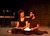"Adryanna Elmendorf and Anderson Allen in ""Living in Exile."""
