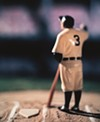 "Untitled 2003 image from David Levinthal's ""Baseball"" series of photographs."