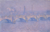 """Waterloo Bridge, Veiled Sun,"" 1903."