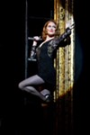 "Dylis_Croman as Roxie Hart in ""Chicago,"" staged this week at The Auditorium Theatre."