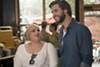 "Rebel Wilson and Liam Hemsworth in ""Isn't It Romantic."""