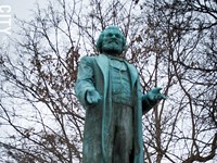 Douglass statue time capsule contents badly damaged