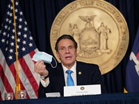 Cuomo shifts tactics again to battle pandemic, calls on healthcare retirees