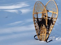 Snowshoe to beat the winter blahs