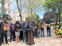 In Albany, advocates rally for an end to qualified immunity