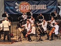 RPO returns to live performance, Delfs debuts as director