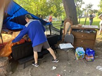 Small homeless encampment removed by city of Rochester