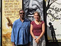 Artists complete four-year Arnett Branch Library mural project in 19th Ward